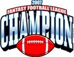 2007 FFL Fantasy Football League Champion