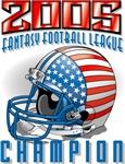 2005 FFL Champion Helmet