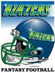 FFL Blazers Helmet