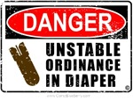 Unstable Ordinance in Diaper