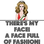 A FACE FULL OF FASHION