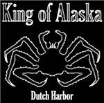 King of Alaska-White outline