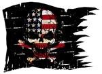 Distressed U.S. Pirate Flag