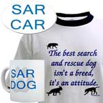 Search & Rescue caps, sweats, t-shirts ...