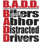 Bikers Abhor Distracted Drivers