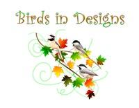 <b>BIRDS IN DESIGNS WALL CALENDAR</b>