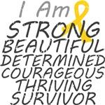 Childhood Cancer Strong Survivor Shirts