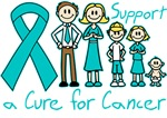 Ovarian Cancer Support A Cure Shirts