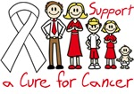 Lung Cancer Support A Cure Shirts