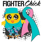 Hereditary Breast Cancer Fighter Chick Shirts