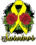 Endometriosis Survivor Rose Shirts and Gifts
