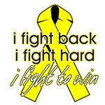 I Fight Back..I Fight Hard Endometriosis Shirts