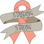 Uterine Cancer Standing Strong Shirts