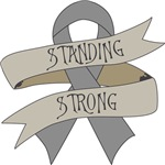 Brain Cancer Standing Strong Shirts