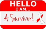 Squamous Cell Carcinoma Hello Survivor Tees