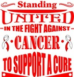 Oral Cancer Standing United Shirts