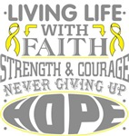 Endometriosis Living Life With Faith Shirts