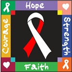 Oral Cancer Courage Hope Shirts