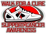 Oral Cancer Walk For A Cure Shirts