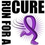 Fibromyalgia Run For A Cure Shirts