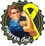 Sarcoma Fighter Gal Shirts