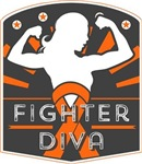 Leukemia Fighter Diva Shirts