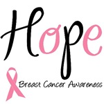 Hope Breast Cancer Awareness T-Shirts & Gifts