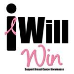 Breast Cancer: I Will Win T-Shirts