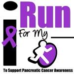 I Run For Pancreatic Cancer Awareness T-Shirts