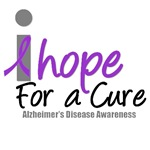 I Hope For A Cure Alzheimer's T-Shirts & Gifts