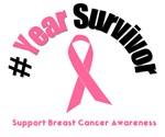 Breast Cancer Commemorate Survivorship T-Shirts