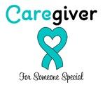 Caregiver Teal Ribbon T-Shirts & Gifts