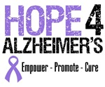 Hope 4 Alzheimer's T-Shirts & Gifts