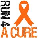 Run 4 A Cure Orange Ribbon Shirts & Gifts
