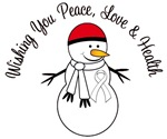 Christmas Snowman Pearl Ribbon Cards & Gifts