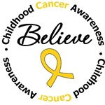 Childhood Cancer Believe Shirts & Gifts