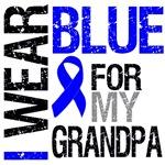 I Wear Blue Colon Cancer (Grandpa) Shirts & Gifts