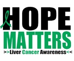 Hope Matters Liver Cancer Shirts & Gifts