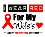 I Wear Red Wife Heart Disease Shirts & Gifts