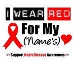 I Wear Red Heart Disease Shirts & Gifts