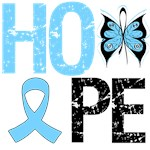 Prostate Cancer Hope Butterfly Shirts & Gifts