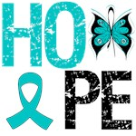 PCOS Hope Butterfly Shirts & Gifts
