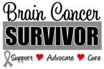 Brain Cancer Survivor Tee Shirts & Gifts