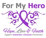 Alzheimer's Disease For My Hero Tees & Gifts