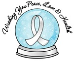 Christmas Snowglobe Lung Cancer Gifts