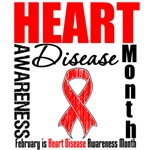 Awareness Month Heart Disease Shirts and Gifts