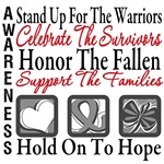 Brain Cancer Stand Up Honor Shirts