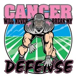 Breast Cancer Will Never Break My Defense Shirts