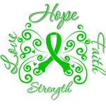 Organ Donor Hope Love Faith Shirts