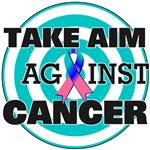 Take Aim Against Thyroid Cancer Shirts & Gifts